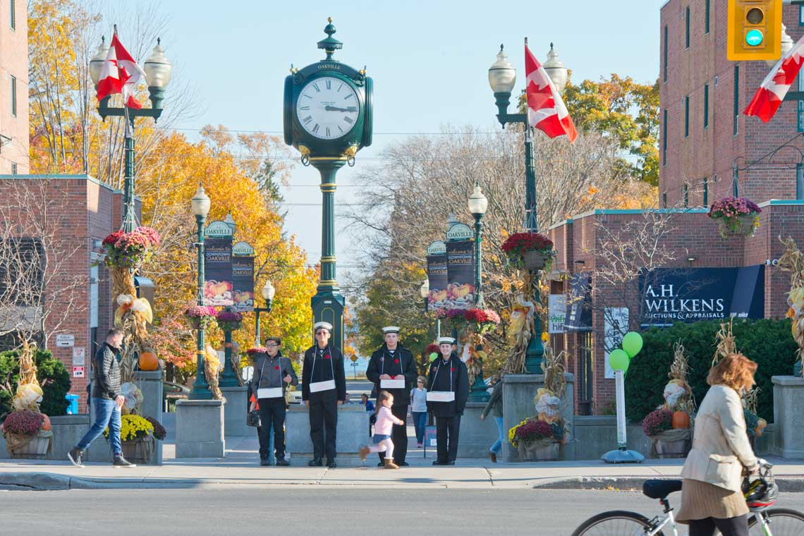 <p>Towne Square in Downtown Oakville</p>