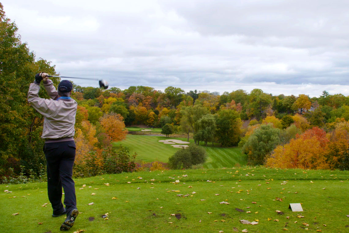 <p>World-renowned Glen Abbey Golf Course</p>